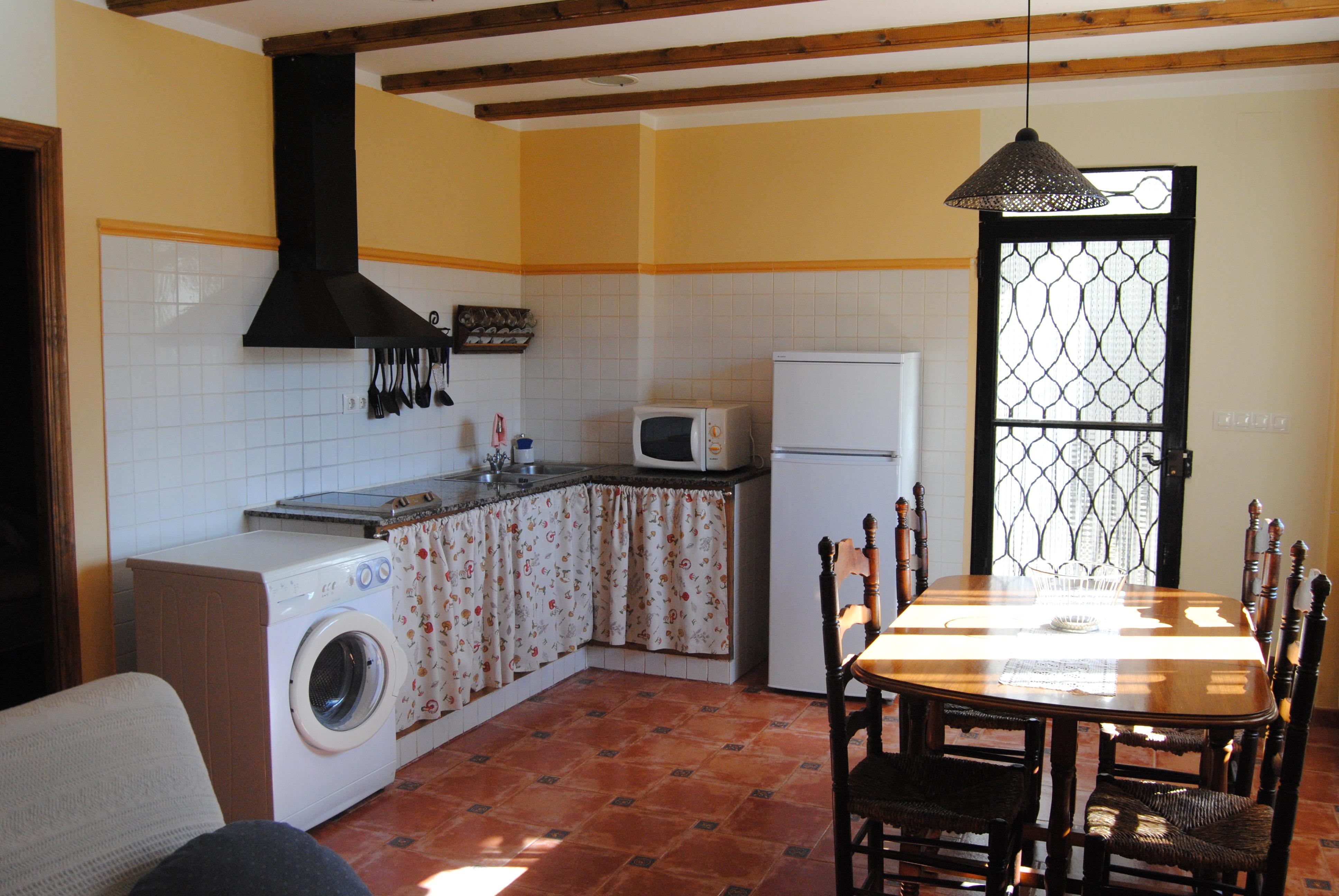 apartamento rural castellon cocina